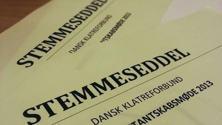 Kolding Klatreklub repræsenteret på Dansk Klatreforbunds repræsentantskabsmøde 2013