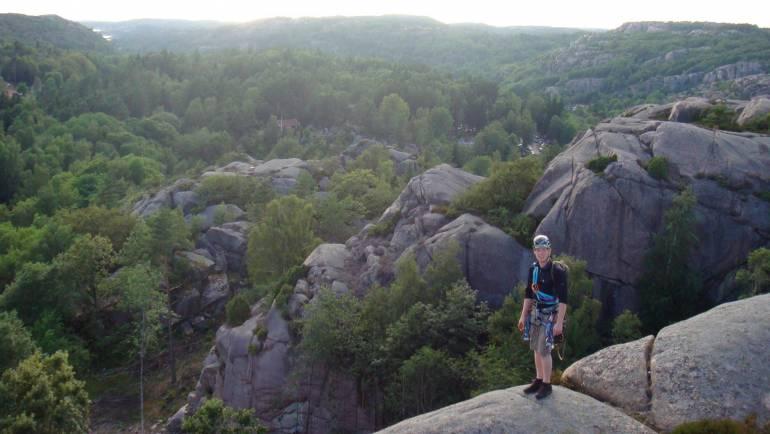 Inspirationsforedrag om klatresportens muligheder udendørs